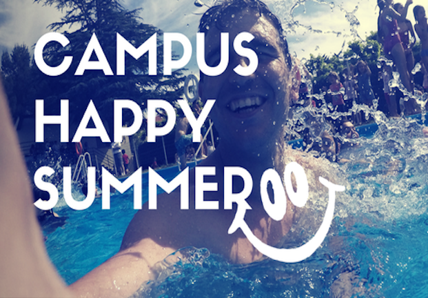 campus happy
