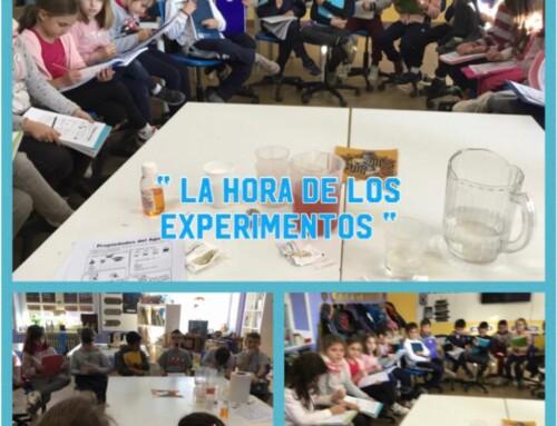 La hora de los experimentos